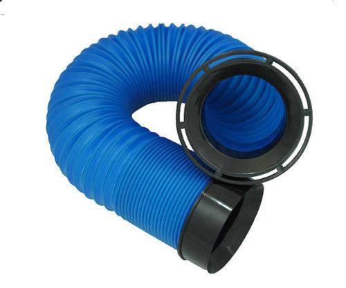 Peugeot blue air intake ducting plastic flexible flexi